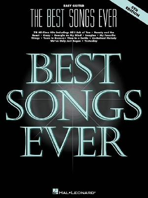 The Best Songs Ever By Hal Leonard Publishing Corporation (COR)